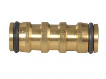 Brass 2-Way Hose Coupling 12.5mm (1/2in)